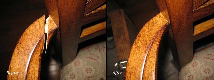 Ordinaire ... Furniture Repair   Before And After